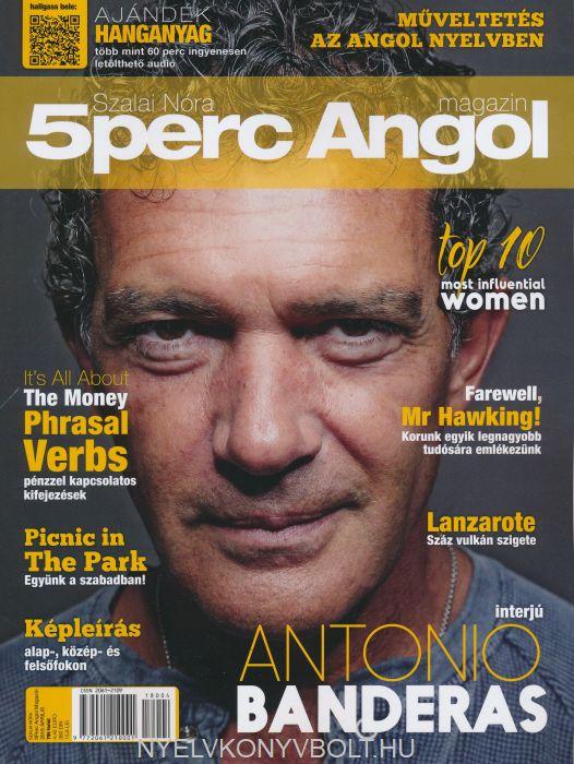 Öt Perc Angol Magazin 2018 Április