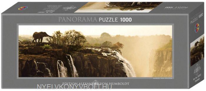 Heye Panorama Puzzle 1000 - Elephant
