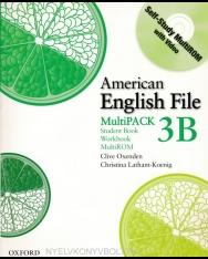 American English File 3B MultiPack - Student Book+Workbook+MultiROM