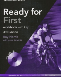 Ready for First 3rd edition Workbook with key and audio CD
