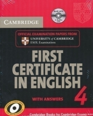 Cambridge First Certificate in English 4 Official Examination Past Papers Student's Book with Answers and 2 Audio CDs Self-Study Pack for Updated Exam 2008 (Practice Tests)