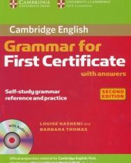 Cambridge Grammar for First Certificate with Answers and Audio CD