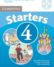 Cambridge Young Learners English Tests Starters 4 Student's Book