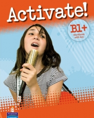 Activate! B1+ Workbook with Key and CD-ROM