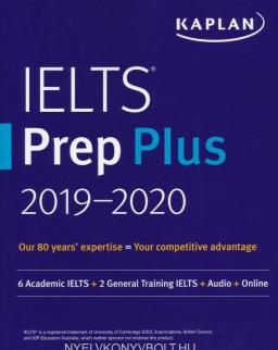 KAPLAN IELTS Prep Plus 2019-2020 + CD-ROM