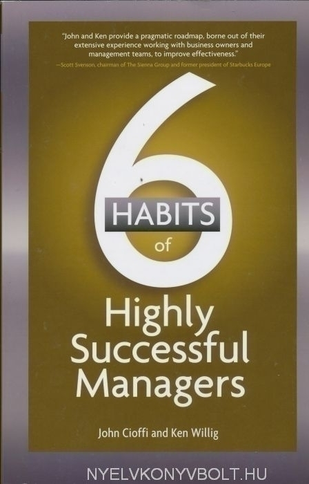 6 Habits of Highly Successful Managers
