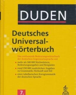 Duden Deutsches Universalwörterbuch 7. Auflage