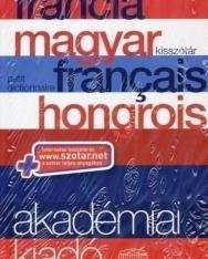 Akadémiai francia-magyar kisszótár (Petit dictionnaire français-hongrois) + szotar.net internetes hozzáférés