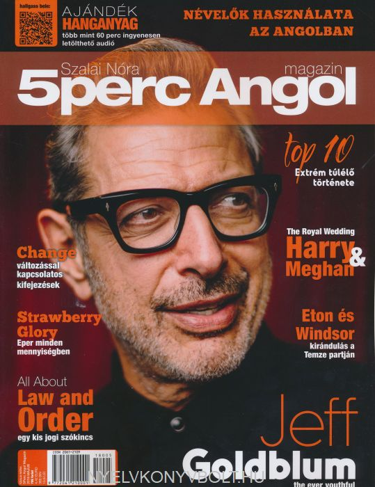 Öt Perc Angol Magazin 2018 Május