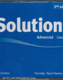 Solutions Advanced 2nd Edition Class Audio CDs