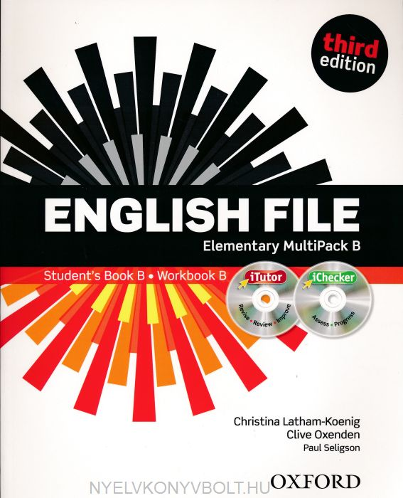 English File - 3rd Edition - Elementary Multipack B with iTutor DVD-Rom