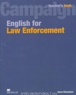 Campaign English for Law Enforcement Teacher's Book