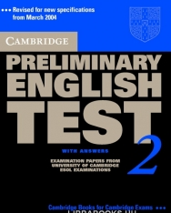 Cambridge Preliminary English Test 2 Official Examination Past Papers 2nd Edition Student's Book with Answers
