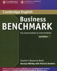 Business Benchmark Pre-Intermediate to Intermediate 2nd Edition - BEC Preliminary Edition Teacher's Book