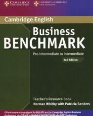 Business Benchmark Pre-Intermediate to Intermediate 2nd Edition - BEC Preliminary Edition Teacher's Book