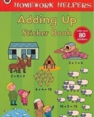 Adding Up Sticker Book - Ladybird Homework Helper