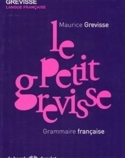 Le petit grevisse - Grammaire francais