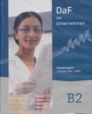 DaF im Unternehmen B2: Medienpaket (2 Audio-CDs + DVD)