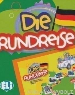 Die Rundreise - Deutsch spielend lernen (Társasjáték)