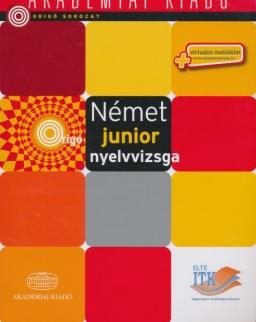 Német junior nyelvvizsga A2 + Virtuális melléklet