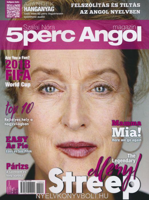 Öt Perc Angol Magazin 2018 Június