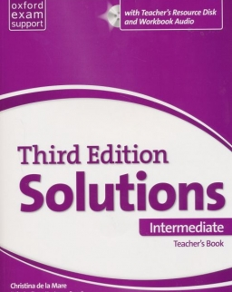 Solutions 3rd Edition Intermediate Teacher's Book with Teacher's Resource Disc and Workbook Audio