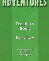 Adventures Elementary Teacher's Book