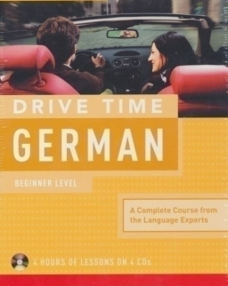 Living Language - Drive Time German - Learn German While You Drive 4 Audio CDs Pack NEW