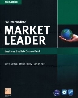 Market Leader - 3rd Edition - Pre-Intermediate Course Book with DVD-ROM