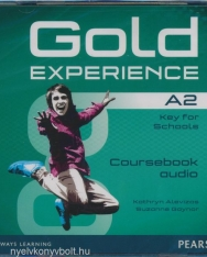 Gold Experience A2 Key for Schools Class Audio CDs(2)