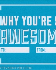 Knock Knock Why You're So Awsome - Fill in the Love Journal