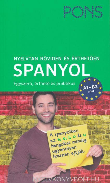 PONS Nyelvtan röviden és érthetően – Spanyol