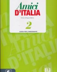 Amici D'Italia 2 Guida per L'Insegnante + CD Audio (3)