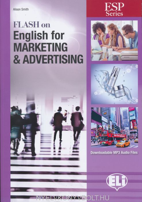 Flash on English for Marketing & Advertising with Downloadable MP3 Audio Files
