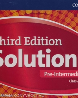 Solutions 3rd Edition Pre-Intermediate Class Audio CDs