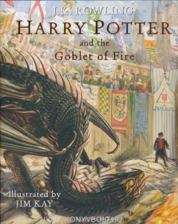 J.K. Rowling: Harry Potter and the Goblet of Fire: Illustrated Edition