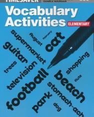 English Timesavers: Vocabulary Activities: Elementary - Photocopiable