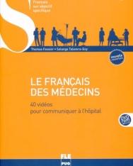 Le Francais des médecins: 40 vidéos pour communiquer a l'hôpital (1DVD)