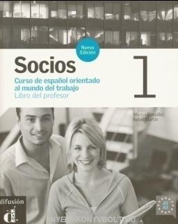 Socios 1 Libro del Profesor Tanári kézikönyv – Új kiadás –