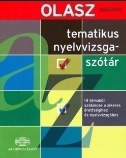Olasz-magyar tematikus nyelvvizsgaszótár