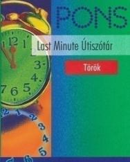 PONS Last Minute Török útiszótár