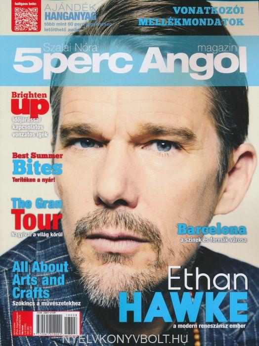 Öt Perc Angol Magazin 2018 Augusztus