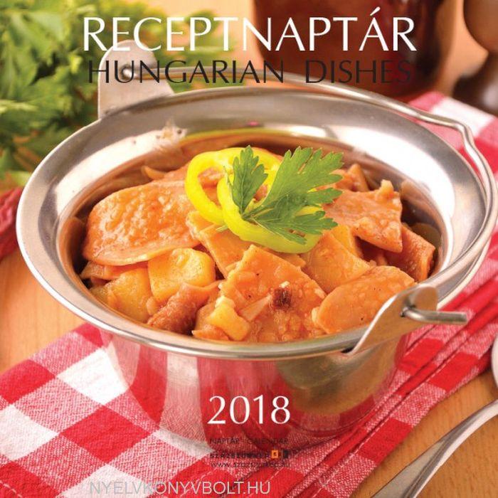 Receptnaptár 2018 falinaptár receptekkel