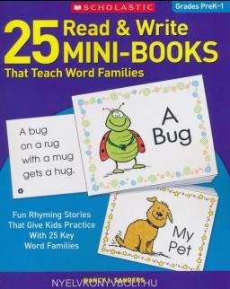 25 Read & Write Mini-Books: That Teach Word Families