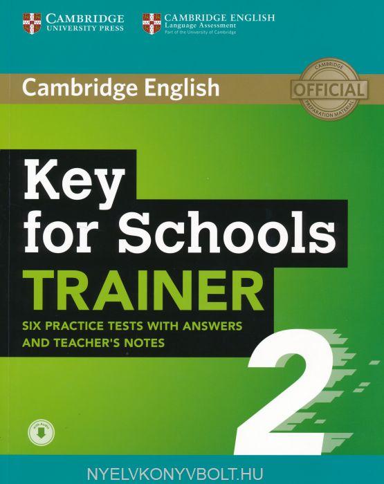 Cambridge English Key for Schools TRAINER 2