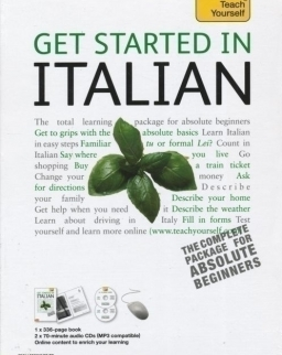 Teach Yourself - Get Started in Italian from Beginner to Level 3 Book & Double CD Pack