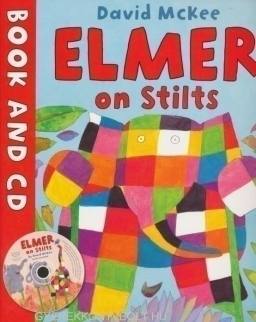 David McKee: Elmer on Stilts - Book with Audio CD