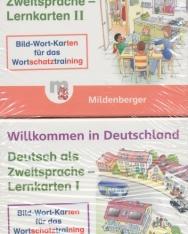 Willkommen in Deutschland - Lernkarten Deutsch als Zweitsprache I und II