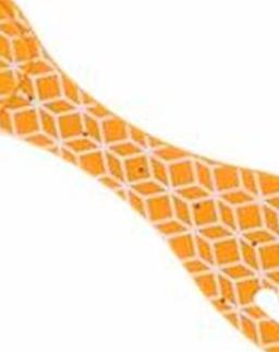 Flexilight Orange Geometric könyvjelző olvasólámpa