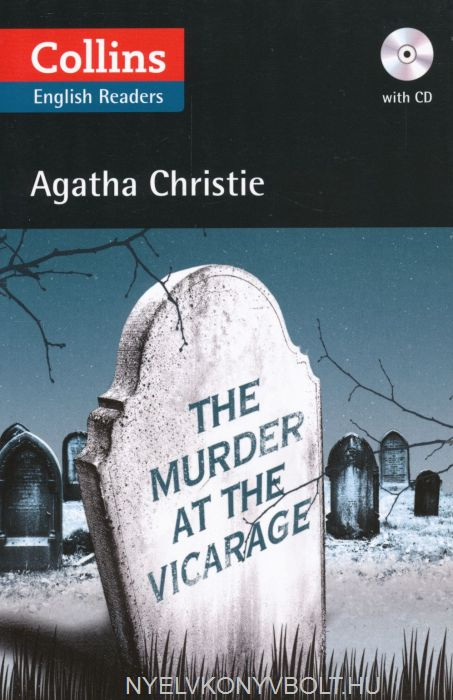 The Murder at the Vicarage with Audio CD - Collins English Readers